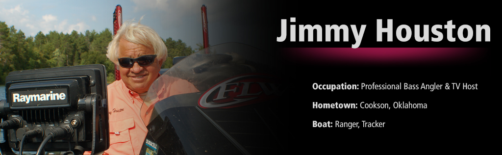 Jimmy Houston - Pro Bass Angler | Raymarine Ambassador