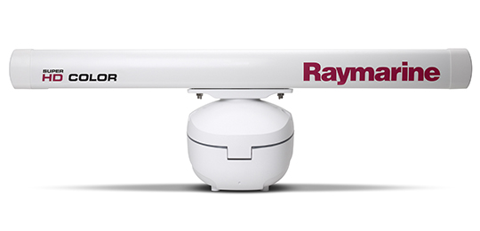 Raymarine HD Color og Super HD Color Åben Antenne Scannere | Raymarine