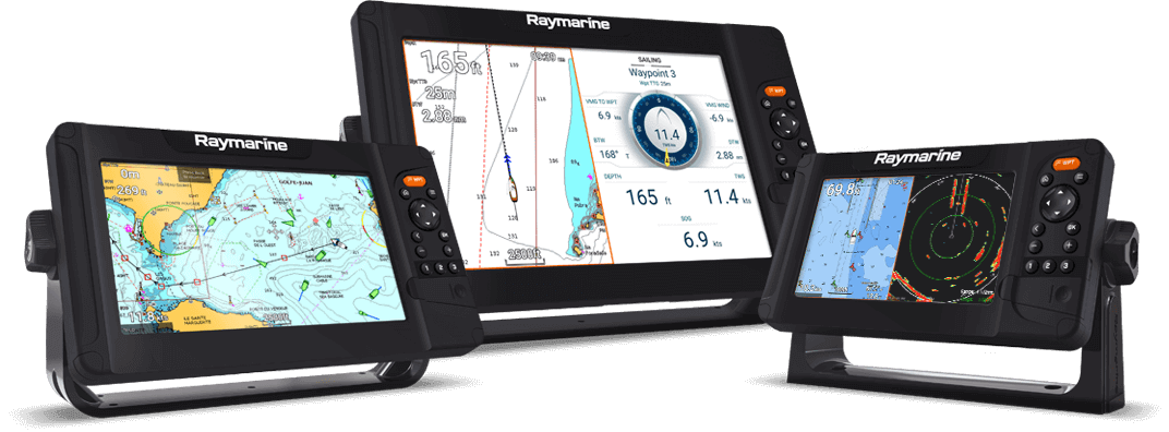 NYE Element S - navigationsskærm | Raymarine by FLIR