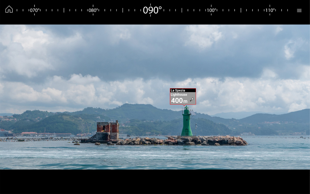 LH3.7 ClearCruise AR - se dine waypoints | Raymarine - A Brand by FLIR