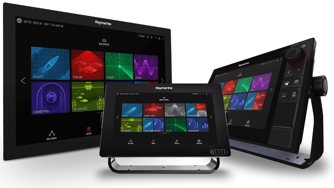Download LightHouse 3.7 til Axiom og Axiom Pro | Raymarine - A Brand by FLIR