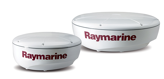 Raymarine Digital og HD Color Radome Radar | Raymarine