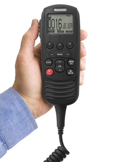 Ray260 Modular Handset in Hand