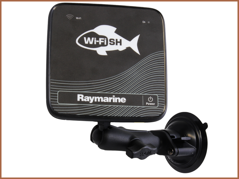 RAM Suction Cup Mount - Dragonfly 4, 5, 7 and Wi-Fish | Raymarine by FLIR