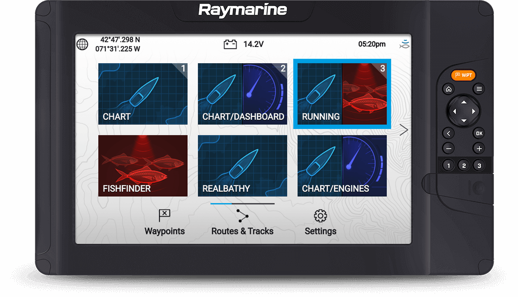 Tekniske specifikationer for Element S | Raymarine - A Brand by FLIR